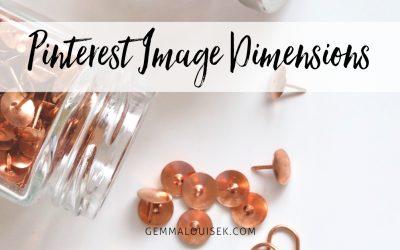 Pinterest Image Dimensions