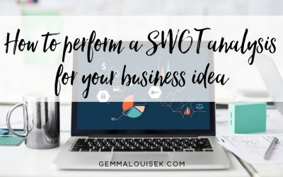How to perform a SWOT analysis for your business idea