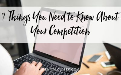 7 Things You Need to Know About Your Competition