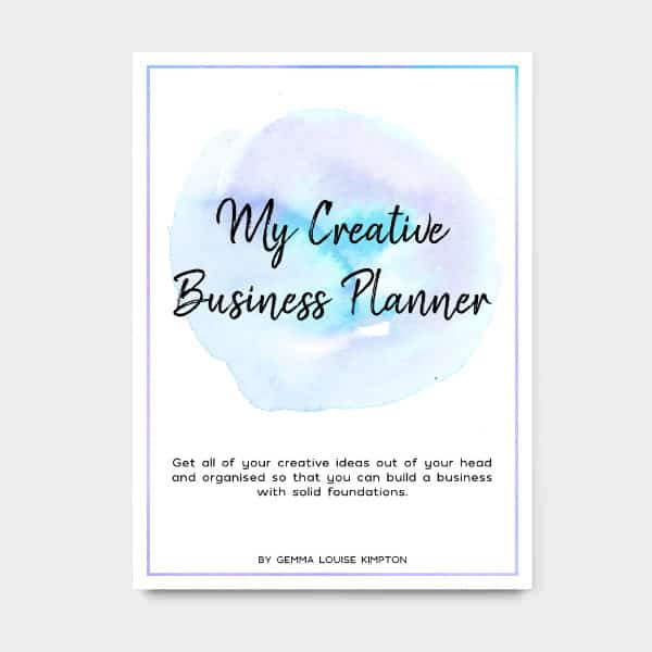 My Creative Business Planner – Digital Version Only